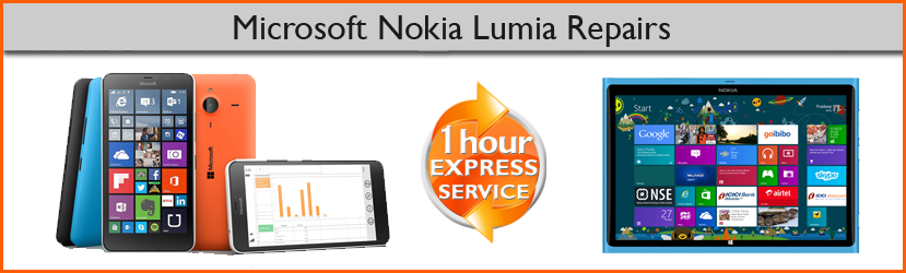 Microsoft Nokia Lumia Cracked, Broken or Smashed Screen Replacement Service in Chester, Cheshire, UK