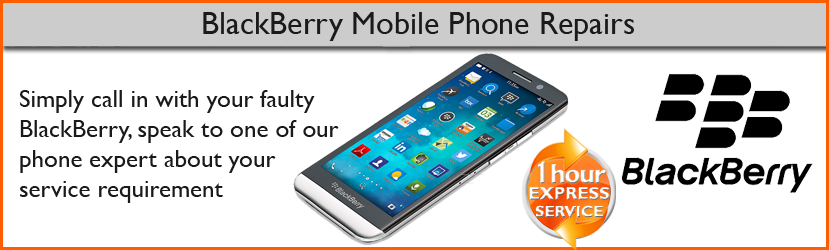 Blackbery mobile phone screen repair in chester, cheshire, UK